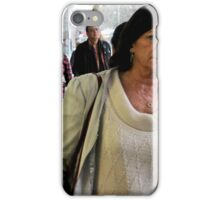 Anonimity in the city teo iPhone Case/Skin