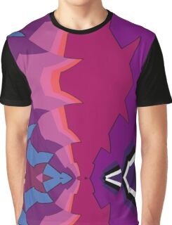 Experiment in Purple Graphic T-Shirt