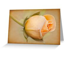 Just Peachy Greeting Card