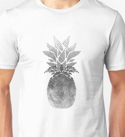 Black and White Pineapple Artwork, Digital Drawing , 2017 Unisex T-Shirt