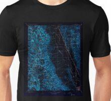 USGS TOPO Map California CA Mt Whitney 299511 1907 125000 geo Inverted Unisex T-Shirt