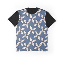 Summer pattern with white flowers Graphic T-Shirt
