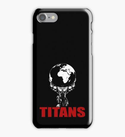 Titans - Strongman Lifting Gear iPhone Case/Skin