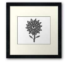 Bloom Flower Framed Print