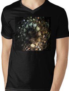 Egg Spiral Mens V-Neck T-Shirt
