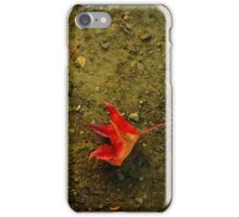 Orange Leaves iPhone Case/Skin