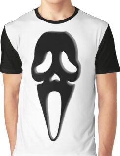 Scream, Halloween, Party, Horror, Death, BLACK Graphic T-Shirt