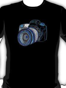 Neon Camera T-Shirt