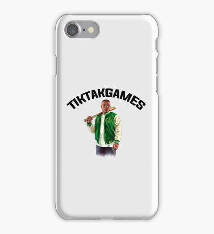 TIKTAKGAMES (GTA V STYLE) Accessoires iPhone Case/Skin