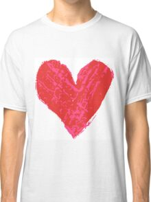 Stamped Heart Classic T-Shirt