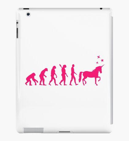 Evolution unicorn iPad Case/Skin