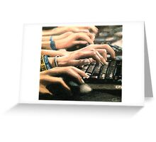 In Controle part 2 Greeting Card