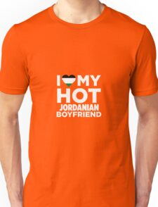 I Love My Hot Jordanian Boyfriend  Unisex T-Shirt