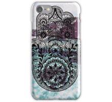 Hand Of Fatima Ocean iPhone Case/Skin