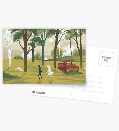 Glitch 01 Greeting Card
