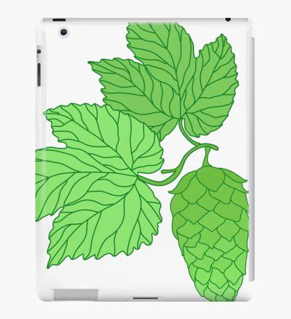 Humulus lupulus iPad Case/Skin