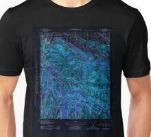 USGS TOPO Map California CA Los Gatos 298062 1943 62500 geo Inverted Unisex T-Shirt