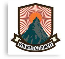 Rock Climbing Enlightenment Canvas Print