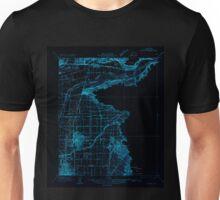 USGS TOPO Map California CA Orange 296370 1932 31680 geo Inverted Unisex T-Shirt