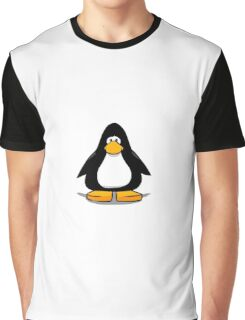Black club penguin  Graphic T-Shirt