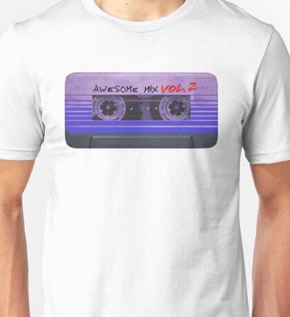 Awesome Mix Vol. 2 Horizontal Unisex T-Shirt