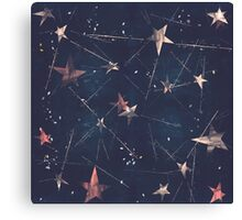 Shooting Star Constellation Canvas Print