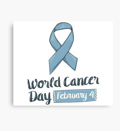 Cancer Day Canvas Print