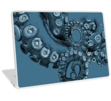 Octopus Tentacle Two-Tone Drawing Laptop Skin