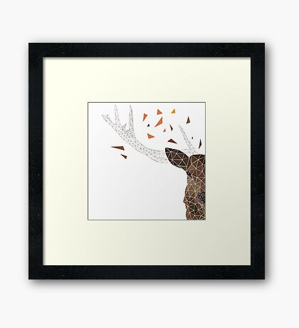 Deer Animal Framed Print