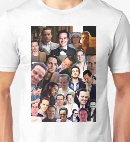 Andrew Scott Collage Unisex T-Shirt