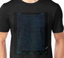 USGS TOPO Map California CA Schell Mtn 300374 1982 24000 geo Inverted Unisex T-Shirt