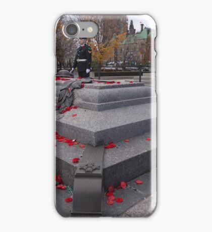Canadian War Memorial in Ottawa, Canada iPhone Case/Skin