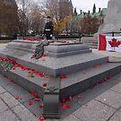 Canadian War Memorial in Ottawa, Canada by Josef Pittner