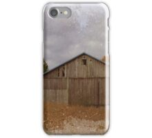 Scenic Barn in field iPhone Case/Skin