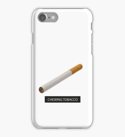 CHEWING TOBACCO iPhone Case/Skin