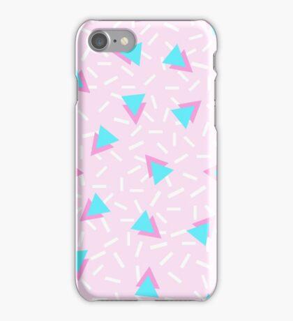 90s Triangles iPhone Case/Skin