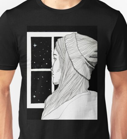 Staring into Space Unisex T-Shirt