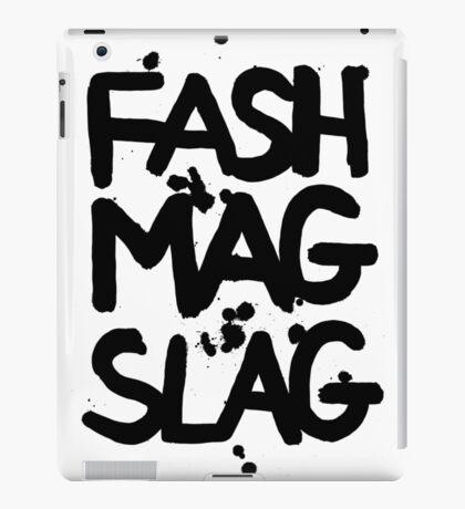 FASH MAG SLAG iPad Case/Skin