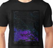 USGS TOPO Map California CA Lucerne Valley 298083 1947 62500 geo Inverted Unisex T-Shirt