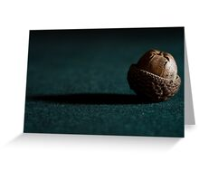 A is for.....Acorn Greeting Card
