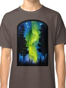 Northern Lights Wave Classic T-Shirt