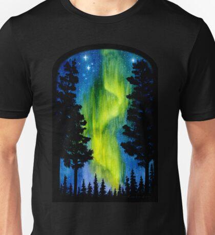 Northern Lights Wave Unisex T-Shirt