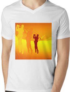 Golf Fantasy Mens V-Neck T-Shirt