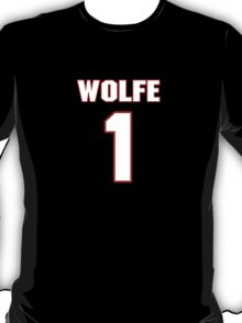 NFL Player Thomas Wolfe one 1 T-Shirt