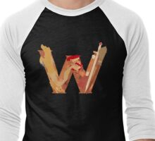 Weasley Wizardy (Nude) Men's Baseball ¾ T-Shirt