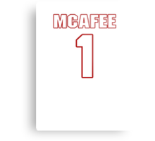 NFL Player Pat McAfee one 1 Metal Print