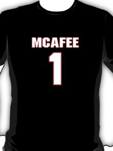 NFL Player Pat McAfee one 1 T-Shirt