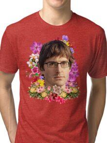 Louis Theroux Floral Tri-blend T-Shirt