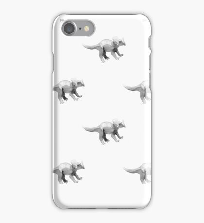 Triceratops. Dinosaur seamless pattern. iPhone Case/Skin