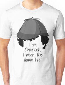 Sherlock Damn Hat Unisex T-Shirt